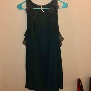 Free people forest green light weight dress
